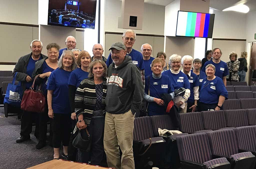 RPEN Members Show Up for a Call to Action at the 2019 Nevada Legislative Session
